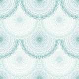 Seamless abstract background pattern guilloche ornament Stock Photography