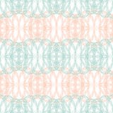 Seamless abstract background pattern with guilloche ornament Royalty Free Stock Images