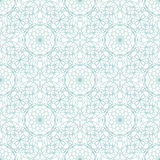 Seamless abstract background pattern with guilloche ornament Royalty Free Stock Photos