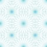 Seamless abstract background pattern with guilloche ornament Royalty Free Stock Photography