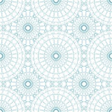 Seamless abstract background pattern guilloche ornament Royalty Free Stock Photos