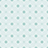 Seamless abstract background pattern with guilloche ornament. Seamless abstract background pattern with turquoise guilloche ornament on white vector illustration