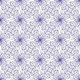 Seamless abstract background pattern guilloche ornament. Seamless abstract background pattern with violet guilloche ornament isolated on white transparent stock illustration