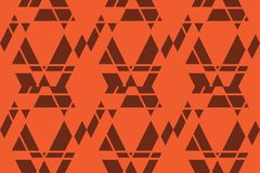 Seamless, abstract background pattern made with trapezoids shapes stock photos