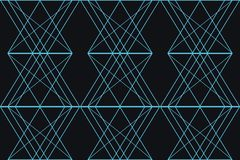 Seamless, abstract background pattern made with triangular and rhomboidal shapes royalty free stock photo