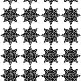 Seamless abstract background. a pattern from the repeating eight. Beam stars. vector illustration Royalty Free Stock Photos