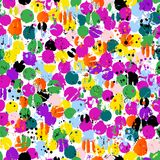 Seamless abstract background pattern, with splashes, summer colo. R, grungy vector illustration Royalty Free Stock Image