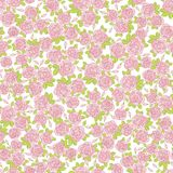 Seamless abstract background with roses. Seamless abstract background with pink roses stock illustration