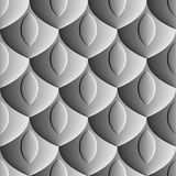 Seamless abstract background - scales embossed design Stock Photos