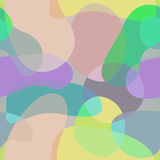 Seamless abstract background, shapes. 2d Vector royalty free illustration