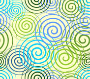 Seamless abstract background with swirls Stock Image