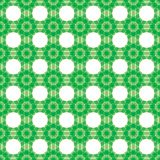 Seamless abstract background. Transparent green grid Stock Illustration