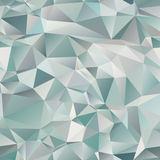 Seamless abstract background of the triangles. Gradients and the illusion of volume Stock Images
