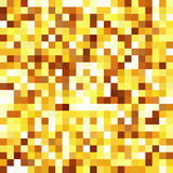 Seamless abstract background with yellow squares. Vector illustration Royalty Free Stock Photo