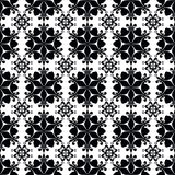 Seamless abstract black pattern ornament  texture on black background. Seamless abstract black pattern ornament stylish texture on white background Royalty Free Stock Photography