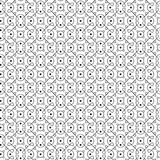 Seamless abstract black and white background. Vector seamless abstract black and white background Stock Images