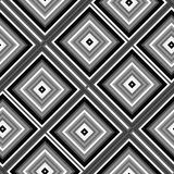 Seamless abstract black and white cubes background Stock Photography
