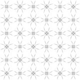 Seamless abstract black white texture fractal patterns. Seamless abstract black texture fractal patterns on white background. Arranged in a staggered manner two Royalty Free Stock Photo