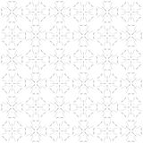 Seamless abstract black white texture fractal patterns. Seamless abstract black texture fractal patterns on white background. Arranged in a staggered manner two Stock Photo