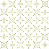 Seamless abstract black yellow texture fractal patterns. On white background. Arranged in a staggered manner two large floral fractal patterns Royalty Free Stock Photos
