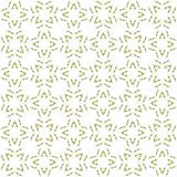 Seamless abstract black yellow texture fractal patterns. On white background. Arranged in a staggered manner two large floral fractal patterns Royalty Free Stock Images