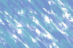 Seamless abstract blue diagonal blocks, triangles and diagonal lines tiling design. Seamless colorful blue diagonal blocks, triangles and diagonal lines wrapping stock illustration