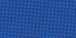 Seamless abstract blue hand drawn pattern Royalty Free Stock Photos