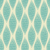 Seamless abstract blue pattern Stock Images