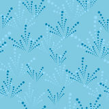 Seamless abstract blue texture Royalty Free Stock Image