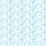 Seamless abstract blue wave texture (Vector Stock Images