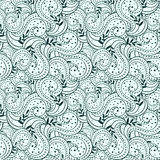 Seamless abstract casual hand-drawn pattern Stock Photos