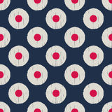 Seamless abstract circle dots pattern Stock Images