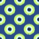 Seamless abstract circle dots pattern Stock Photo