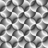 Seamless Abstract Circle Texture Stock Image