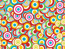Seamless abstract circular pattern Stock Photography