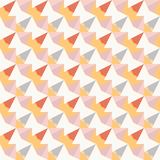 Seamless abstract graphical colorful diagonal sharp pattern texture element.  Stock Images