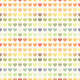 Seamless abstract colorful rainbow Valentine's Royalty Free Stock Photos