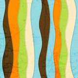 Seamless Abstract Colorful Striped Vector Backgrou Royalty Free Stock Images
