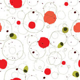 Seamless abstract creative pattern Stock Image