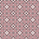 Seamless Abstract Cross Stitch Embroidery Pattern Stock Image