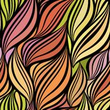 Seamless abstract curly wave pattern Stock Photography