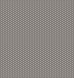 Seamless abstract 3D background - corrugated surface hexagons. Royalty Free Stock Photos