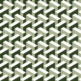 Seamless abstract 3d construction block pattern. Background royalty free illustration