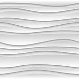 Seamless abstract 3D white background Stock Photos