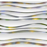 Seamless abstract 3D white spheric background Royalty Free Stock Photo