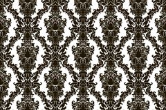 Seamless abstract damask pattern  Royalty Free Stock Photography
