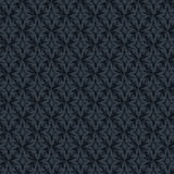 Seamless abstract dark blue retro pattern in vintage style Royalty Free Stock Images