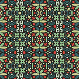Seamless Abstract Decorative Pattern Stock Image