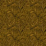 Seamless abstract doodle pattern Stock Images