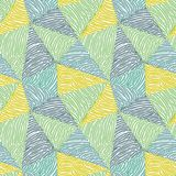 Seamless abstract doodle pattern Royalty Free Stock Image